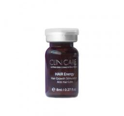 HAIR ENERGY ampułki przeciw wypadaniu włosów, pobudzenie wzrostu 10x8 ml