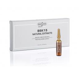 NATURAL EXTRACTS - ampułki do twarzy i ciała 5x10 ml