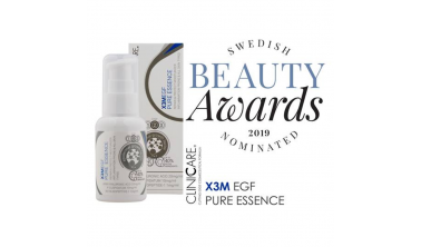 Szwedzka nagroda Beauty Awards dla ClinicCare.