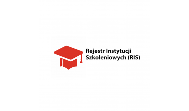 Jesteśmy wpisani do Rejestru Instytucji Szkoleniowych :)